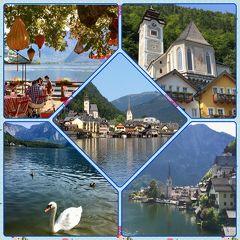 ♪中欧7♪ハルシュタット☆*:.世界で最も美しい湖畔の町。命名するなら白鳥の湖.:*☆