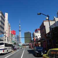 2015年(平成27年)7月定番の東京駅丸の内駅舎 東京スカイツリー(天望回廊 天望デッキ)と浅草を訪問。