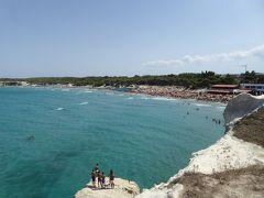 プーリア州優雅な夏バカンス♪ Vol218(第12日) ☆Torre dell'Orso:「トッレ・デル・オルソ」絶景ビーチを眺めて♪