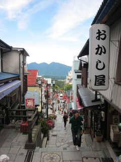 上州・伊香保温泉 レトロな温泉街の路地と石段 ぶらぶら歩き暇つぶしの旅ー1