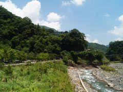 酷暑の台北周辺を歩き回った4泊5日―3日目 オフ会仲間と新竹の山奥にある清泉へ
