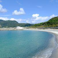 夏を取り戻す旅。新島。