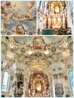 ♪中欧10♪・:*+.ヴィース教会.+*・:~ユネスコ世界文化遺産~