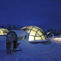 年末年始 おひとり様、オーロラを見に北欧へ サーリセルカとガラスイグルー編