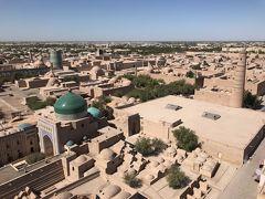 2017ウズベキスタンの旅�ヒヴァ@Hotel Qosha Darvoza