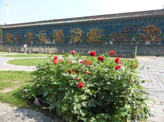 3歳娘を連れて中国山西省7日間の旅7-これぞ古刹!静かで厳かな善化寺