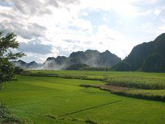 Thinh Hoa タインホア省 ローカル観光地、秘境 Suoi Ca スイカ? いえ、スオイカーまで、いきあたりばったりツーリング。