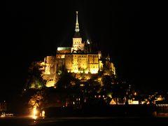 今更ながら憧れの初フランス旅【6】 -- 憧れのモンサンミシェルの修道院と夜景を堪能!! <1日目-2> --