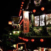 夜の九分 < 4日間で台湾を一周するパッケージツアー 3日目 その3 >