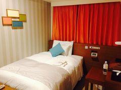 ラストは新宿でホテルステイ