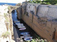 プーリア州優雅な夏バカンス♪ Vol266(第13日) ☆Santa Cesarea Terme:驚きの漁港「Porticciolo」♪