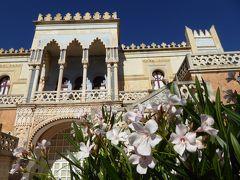 プーリア州優雅な夏バカンス♪ Vol267(第13日) ☆Santa Cesarea Terme:サンタ・チェザーレア・テルメの豪華な別荘「Villa Sticci」エントランスを眺めて♪