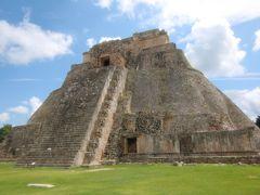 VIVA MEXICO!!  古代文明、遺跡とカリブの楽園・・・ウシュマル遺跡、カバー遺跡編