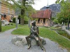 2017GW スイス22:マイリンゲン シャーロックホームズ終焉の地、ライヘンバッハ滝と博物館