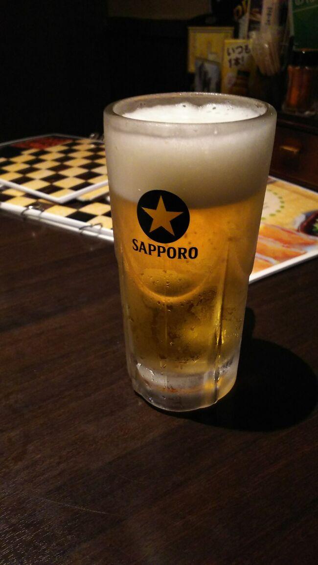 やっぱり北海道に来てビールを頼むならサッポロビール。それも事前に黒ラベルが美味しいと聞いていたので「とりあえず黒ラベル」を注文。美味しかったです。<br />1日目は、昼過ぎに着いたので、ホテルに荷物を置き大通公園のテレビ塔へ。晩御飯はテレビ塔内の居酒屋で。<br />2日目は、母が行きたかった旭山動物園へ。旭川駅のイオンモールで買い物。<br />3日目は、小樽で市場とお土産を買いに。
