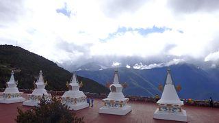 雲南省一人旅2 徳欽の氷河と香格里拉の松賛林寺