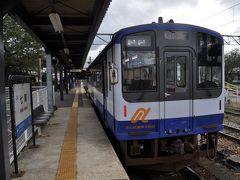 2017年10月北陸トライアングルルートきっぷの旅4(のと鉄道穴水駅へ)