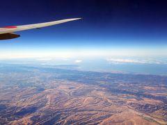 2017秋 #2長距離フライト2連発 成田-ロサンゼルス-リマ その1・飛行機の窓から
