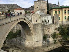 ベオグラードから入るクロアチア・スロベニア周辺5カ国周遊旅行 モスタル編