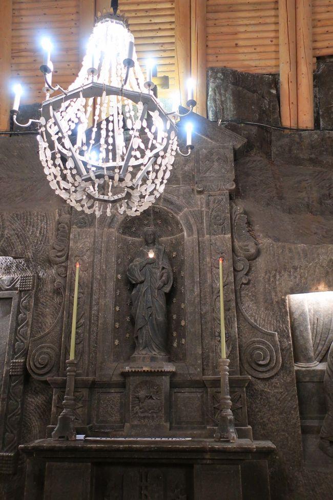 地下の美術館・ヴィエリチカ塩鉱にびっくり~かわいいポーランド探訪8日間④の2