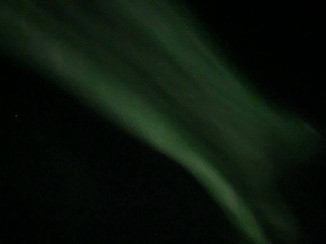 2日目の夜に念願のオーロラを見てからの感動の余韻に浸りながら3日目に突入。
