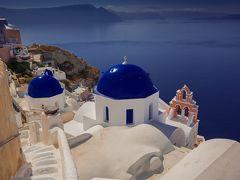 世界の島巡り(ギリシャのサントリーニ島)