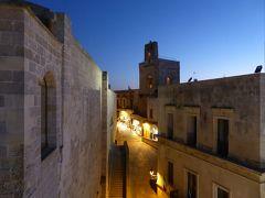 プーリア州優雅な夏バカンス♪ Vol295(第14日) ☆Otranto:高級ホテル「Palazzo Papaleo」屋上からオートラントの夜景を眺めて♪