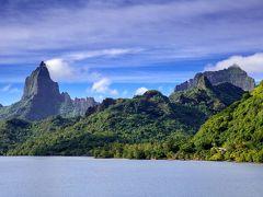 世界の島巡り(仏領ポリネシアのモーレア島)