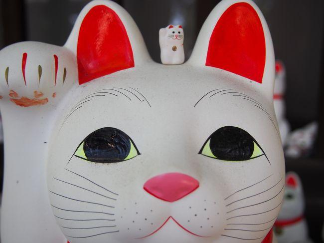 かつては玉川線、現在は東急世田谷線。<br />三軒茶屋―下高井戸間を結ぶ路線ですが、<br />招き猫発祥の地と言われている豪徳寺とのコラボで「幸福の招き猫電車」の運行が始まりました。<br /><br />機会があれば一度ゆっくり乗ってみたかった世田谷線、良い機会なので出かけてみました。