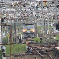 幡生駅近くで電気機関車EF6627を見に行く(追加版)