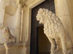 プーリア州優雅な夏バカンス♪ Vol305(第15日) ☆Nardo:「ナルド旧市街」美しいライオンのカルメロ教会を鑑賞♪