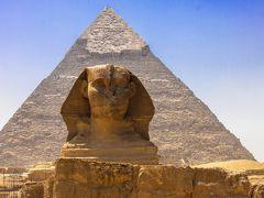 エジプトの世界遺産ギザの三大ピラミッド