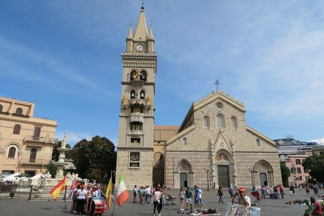 タオルミーナの次は、メッシーナの観光も少しだけしました。