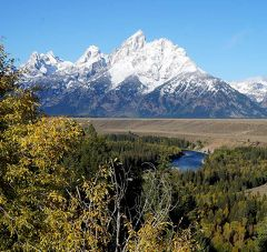 団塊夫婦の2017年アメリカ国立公園ドライブ旅行ー(9)ようやく晴天に恵まれたグランドティトンを周遊