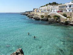 プーリア州優雅な夏バカンス♪ Vol320(第15日) ☆Santa Maria Al Bagno:サンタ・マリア・アル・バーニョの美しいビーチ♪