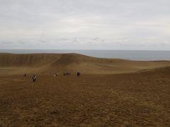 神有月に訪れる鳥取砂丘と出雲大社