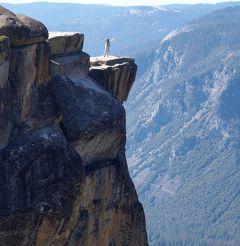 団塊夫婦の2017年アメリカ国立公園ドライブ旅行ー(11)ヨセミテ・グレーシャーポイントまでドライブ&トレッキング
