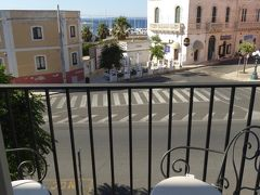 プーリア州優雅な夏バカンス♪ Vol323(第15日) ☆Gallipoli:ガッリーポリ高級ホテル「Palazzo del Corso」ジュニアスイートルームから眺めて♪