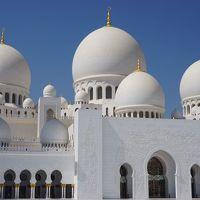 マルタ&ドバイ・アブダビ8日間 母娘二人旅⑥シェイク・ザイード・グランド・モスクとバージュ・アル・アラブでアフタヌーンティー