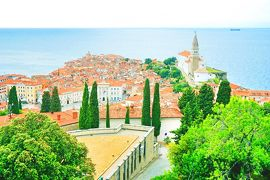 イタリア三都市 + イストラ半島ドライブ #16 : ピラン、スロベニアの港町