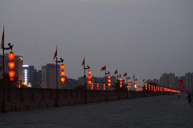 【北京&西安】3日目:後半 西安城壁サイクリング&回民街散策