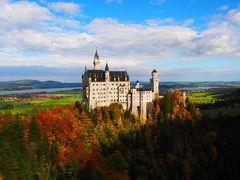 秋めくドイツ・スペインを訪ねてvol.3《3日目》ルードヴィッヒⅡ世の夢の跡…現地ツアーで行くノイシュヴァンシュタイン城とリンダーホーフ城