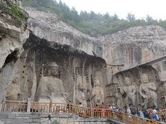 海南航空+中国新幹線で兵馬俑と龍門石窟へ。③洛陽、龍門石窟はきつい階段昇降