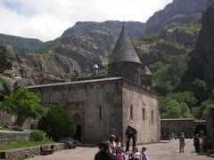 2006年アルメニアに行ってみた④(ガルニとゲガルト修道院へ)