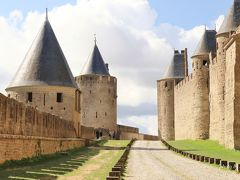 フランス 美しい街並みと世界遺産を訪ねて(4)ヨーロッパ最大の城塞カルカソンヌとミディ運河