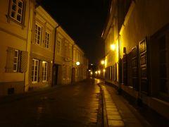 はじめてのバルト三国2017-<7>ヴィリニュス3日目夜・旧市街でディナー&4日目朝・出発は雨の朝に