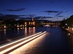 今更ながら憧れの初フランス旅【14】 -- セーヌ川に架かるポン・デザールとフランス学士院の夜景 --