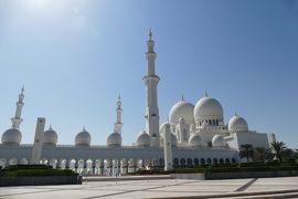 アラブ首長国連邦:UAE (グランドモスクとドバイモール : 上空機内でもGPSマップが使えたよ(^_^))
