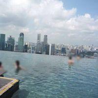 シンガポール マリーナベイサンズ3☆あのプールのためだけに1泊5万( ノД`)