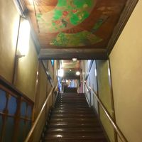 いけばな×百段階段とRigoletto渋谷でランチ